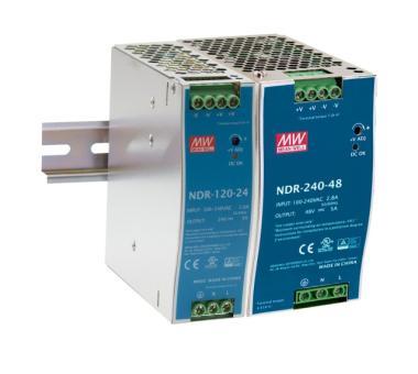 Hutschienen-Netzteil (DIN Rail) 480W 48V 10A, Mean Well