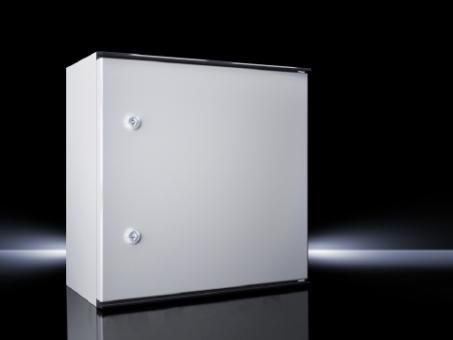 Kunststoff-Schaltschrank KS, 1-türig, BHT 400x400x200 mm