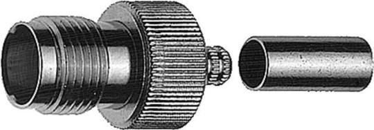 R-TNC-Kabelbuchse Reverse Cr/Cr