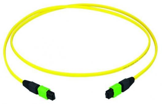 MPO APC green female patch cord 40m